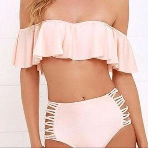Other - Off the shoulder bikini top